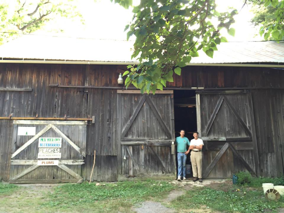 Indian Orchards Barn in the Old Days