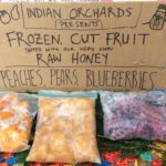 Indian Orchards Cut frozen fruit Farm stand